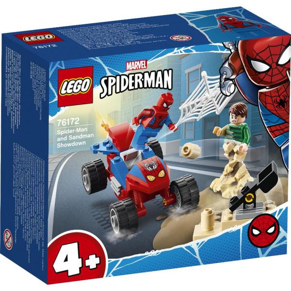 Das Duell von Spider-Man und Sandman